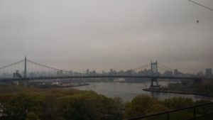Leaving NYC by train for the monastery. How did I get here...